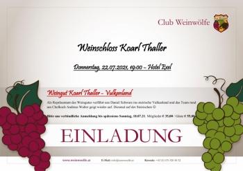 Weinschloss Karl Thaller-